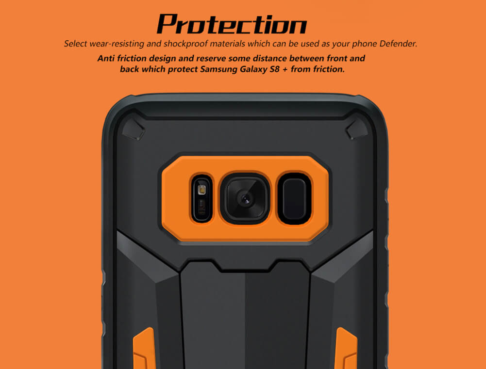 Nillkin Defender 2 Series Armor-border bumper case for Samsung Galaxy S8 Plus S8+