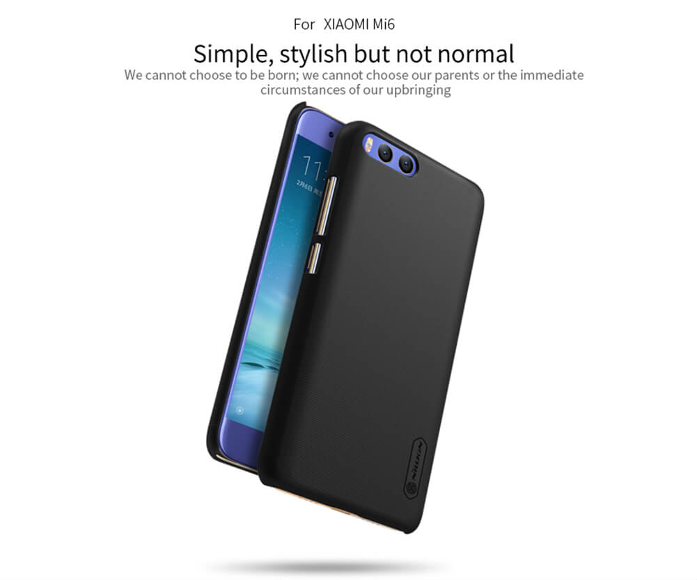 Nillkin Super Frosted Shield Matte cover case for Xiaomi Mi6 M6 + free screen protector