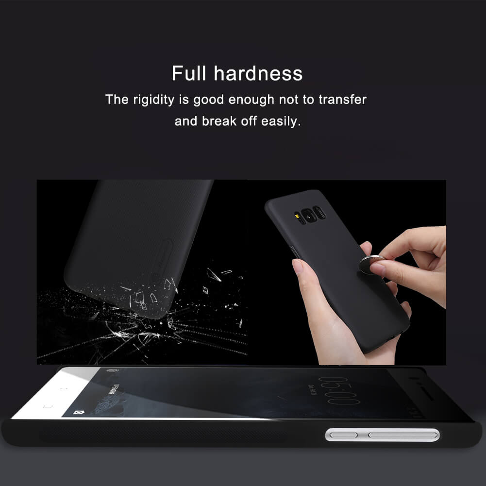 Nillkin Super Frosted Shield Matte cover case for Nokia 3 + free screen protector