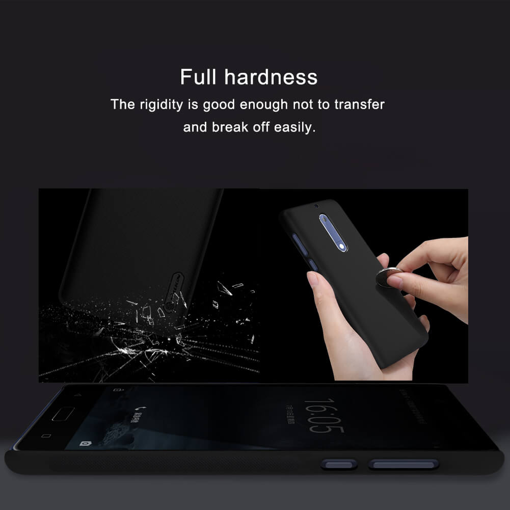 Nillkin Super Frosted Shield Matte cover case for Nokia 5 + free screen protector