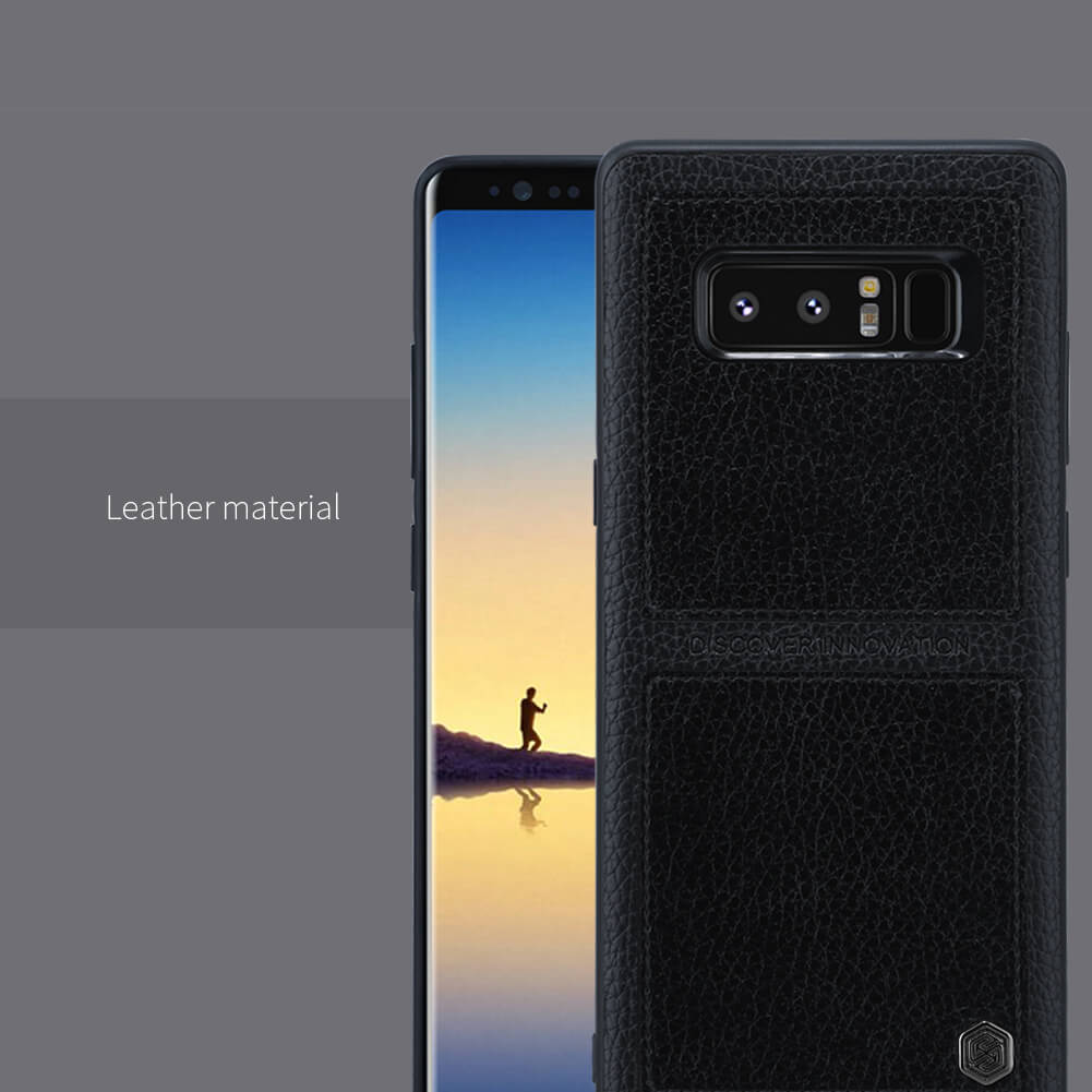 Nillkin BURT Series business protective leather case for Samsung Galaxy Note 8