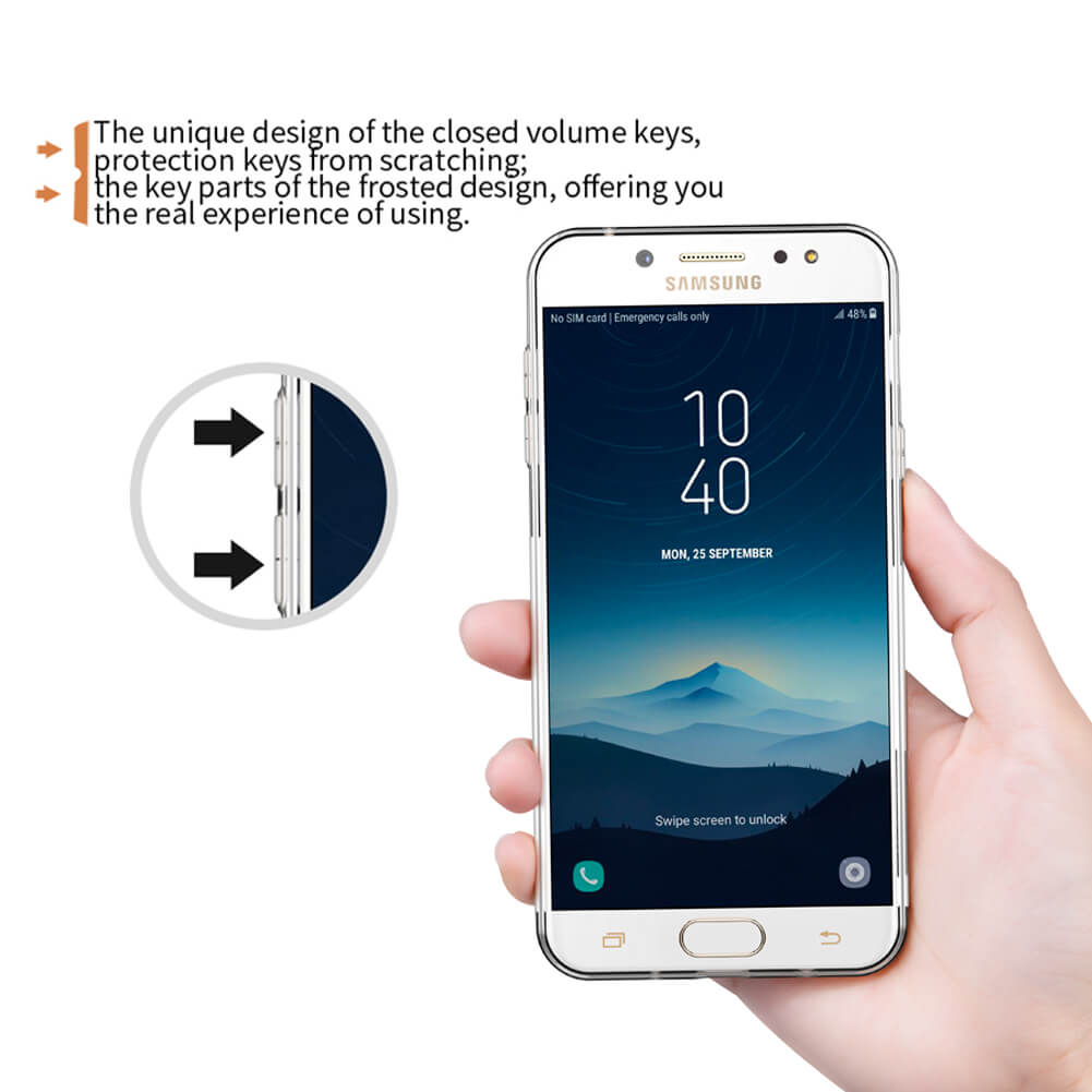 Nillkin Nature Series TPU case for Samsung Galaxy J7 Plus J7+ (C8)