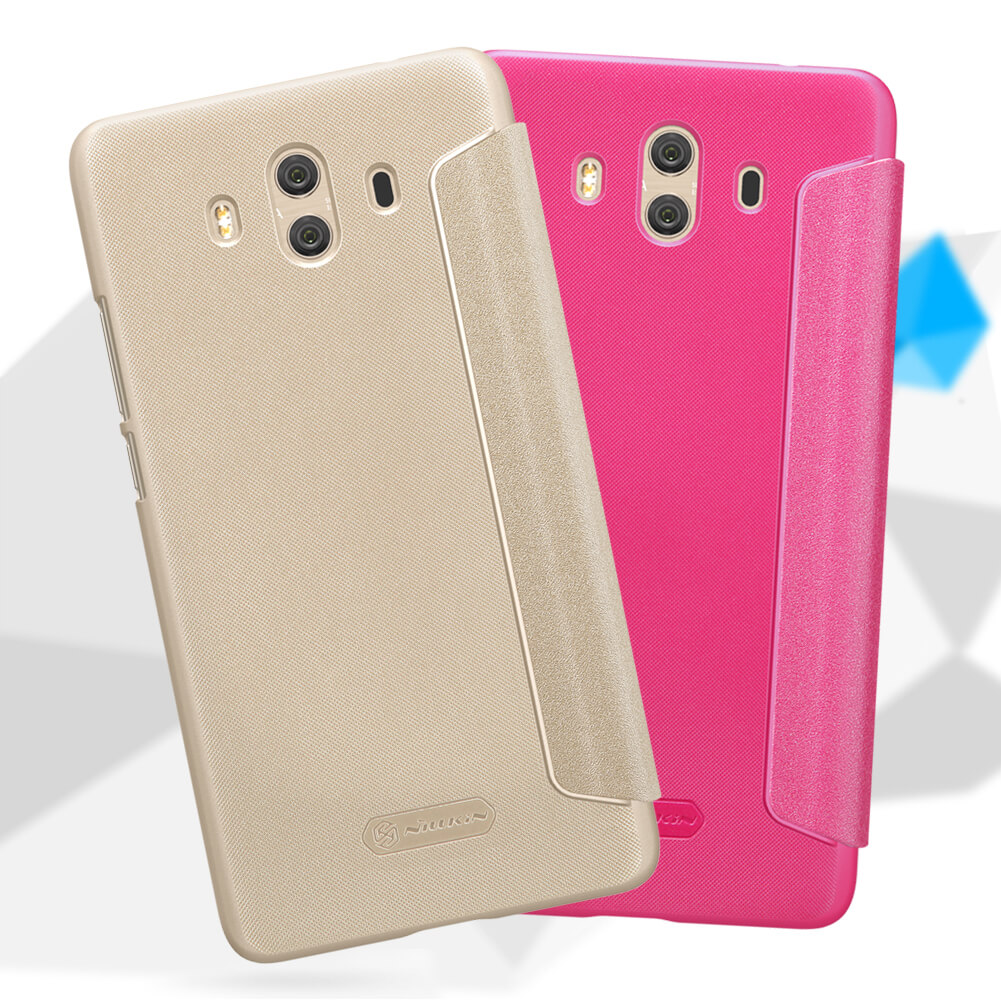 Nillkin Sparkle Series New Leather case for Huawei Mate 10