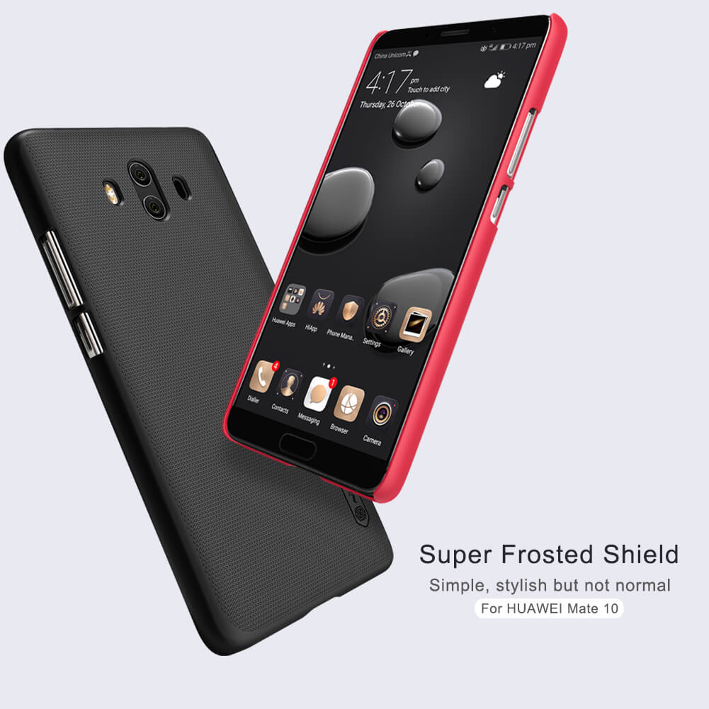 Nillkin Super Frosted Shield Matte cover case for Huawei Mate 10 + free screen protector