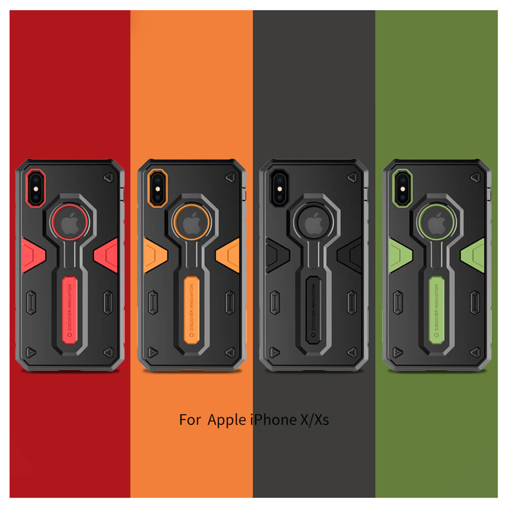 Nillkin Defender 2 Series Armor-border bumper case for Apple iPhone X