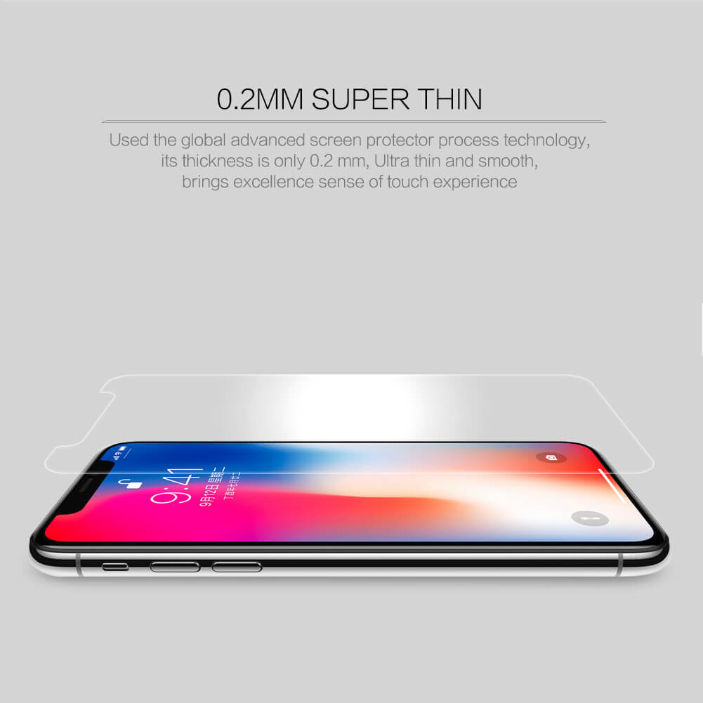Nillkin Amazing H+ Pro tempered glass screen protector for Apple iPhone X
