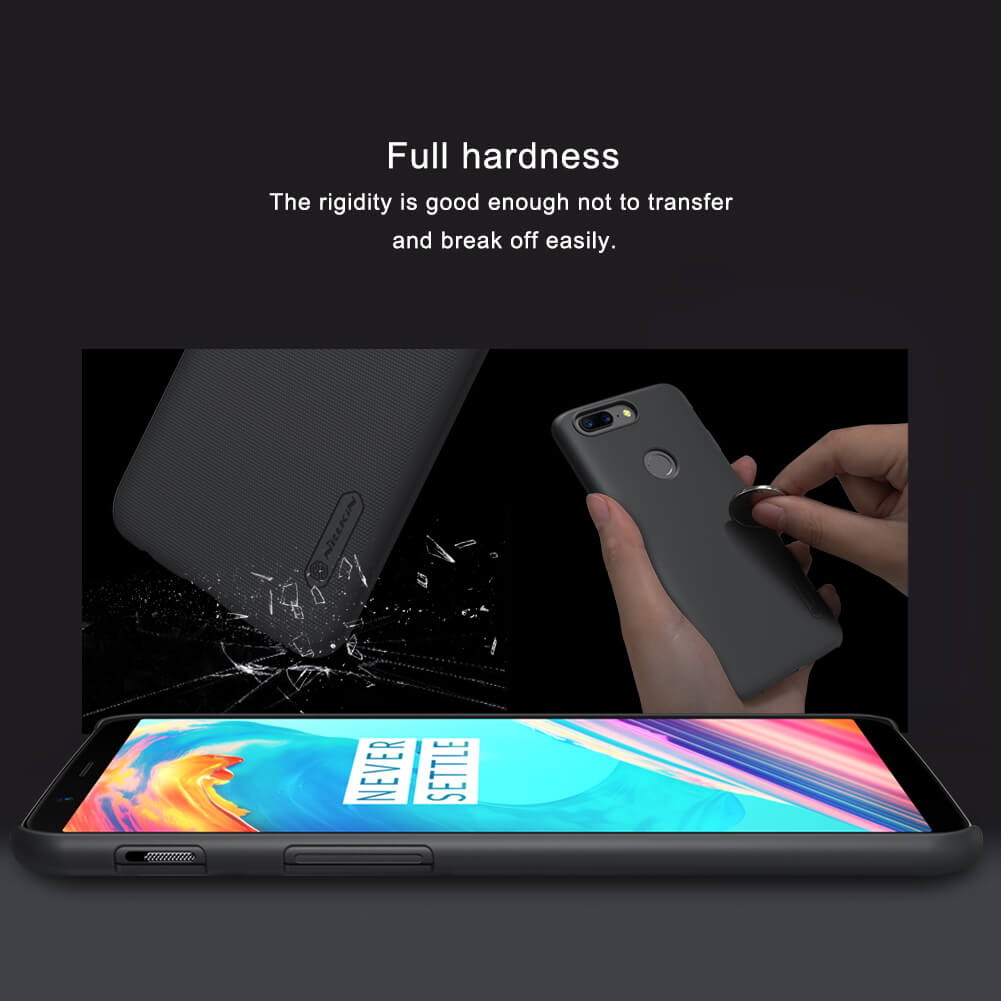 Nillkin OnePlus 5T Super Frosted Shield Case 4