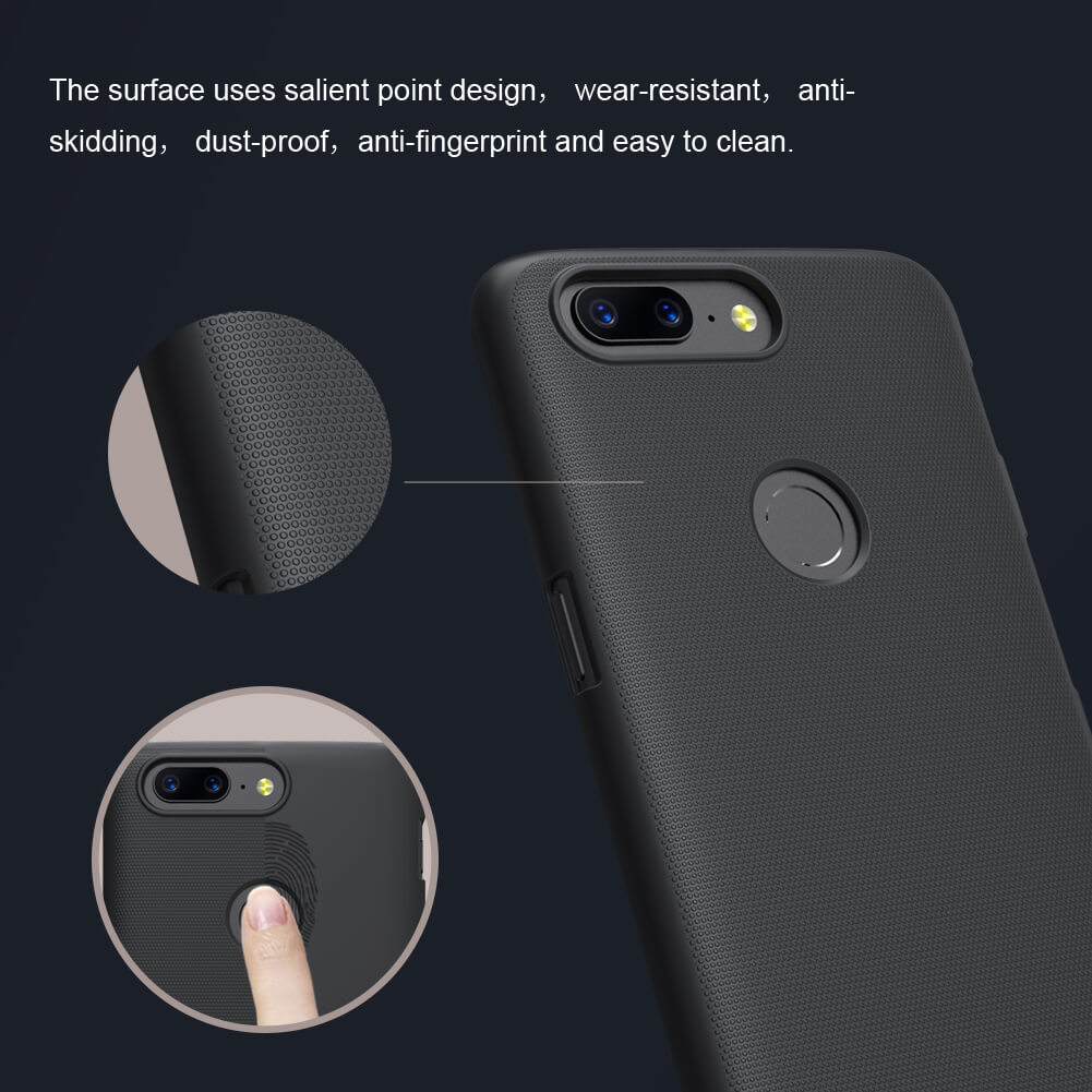 Nillkin OnePlus 5T Super Frosted Shield Case 5