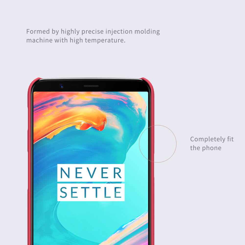 Nillkin Super Frosted Shield Matte cover case for Oneplus 5T (A5010) + free screen protector