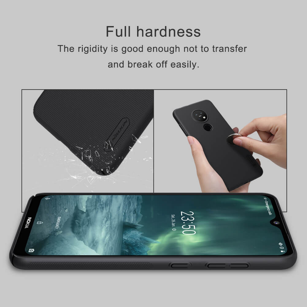 Nillkin Super Frosted Shield Matte cover case for Nokia 7.2, Nokia 6.2