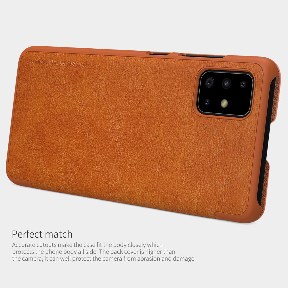 Nillkin Qin Series Leather case for Samsung Galaxy A71
