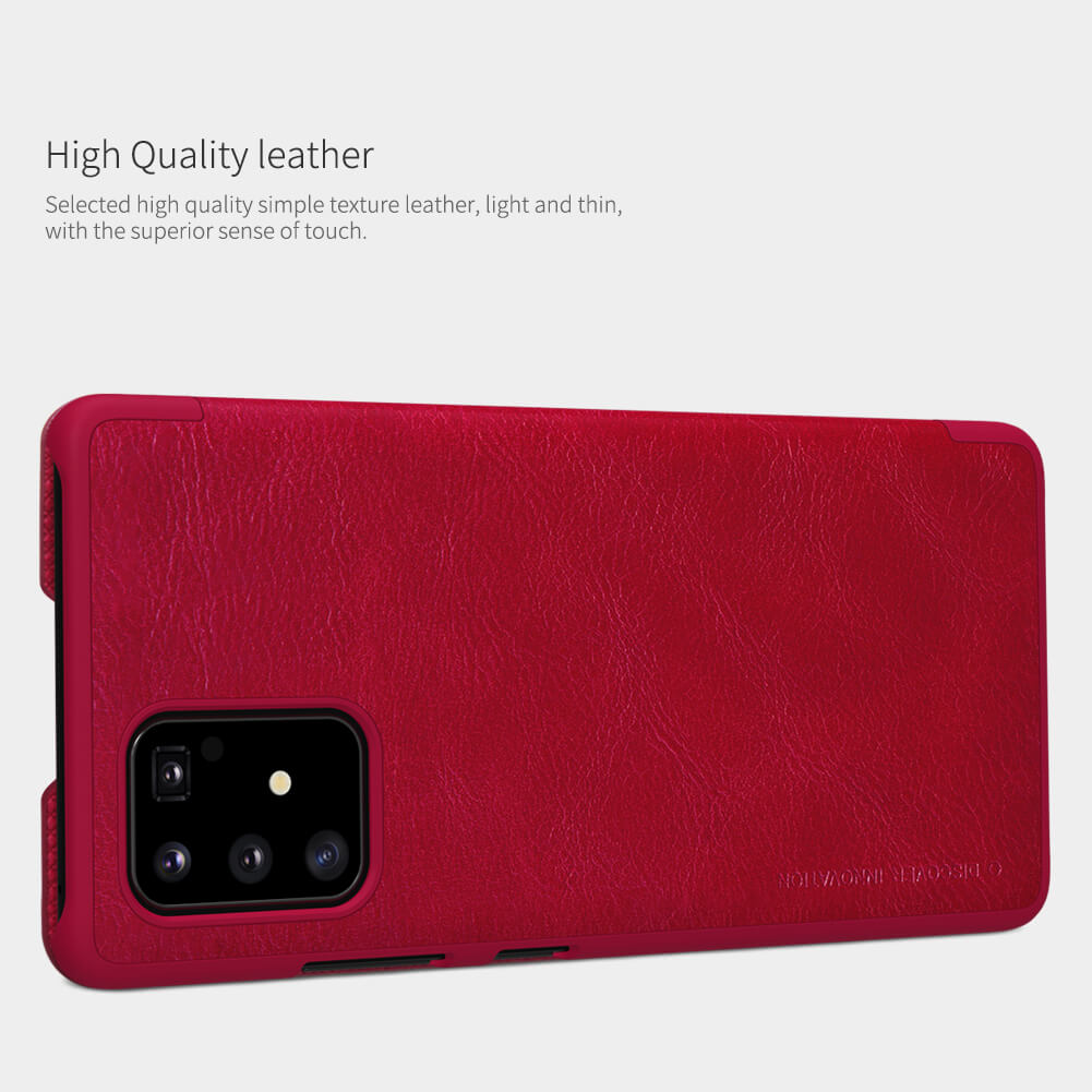 Nillkin Qin Series Leather case for Samsung Galaxy S10 Lite (2020)