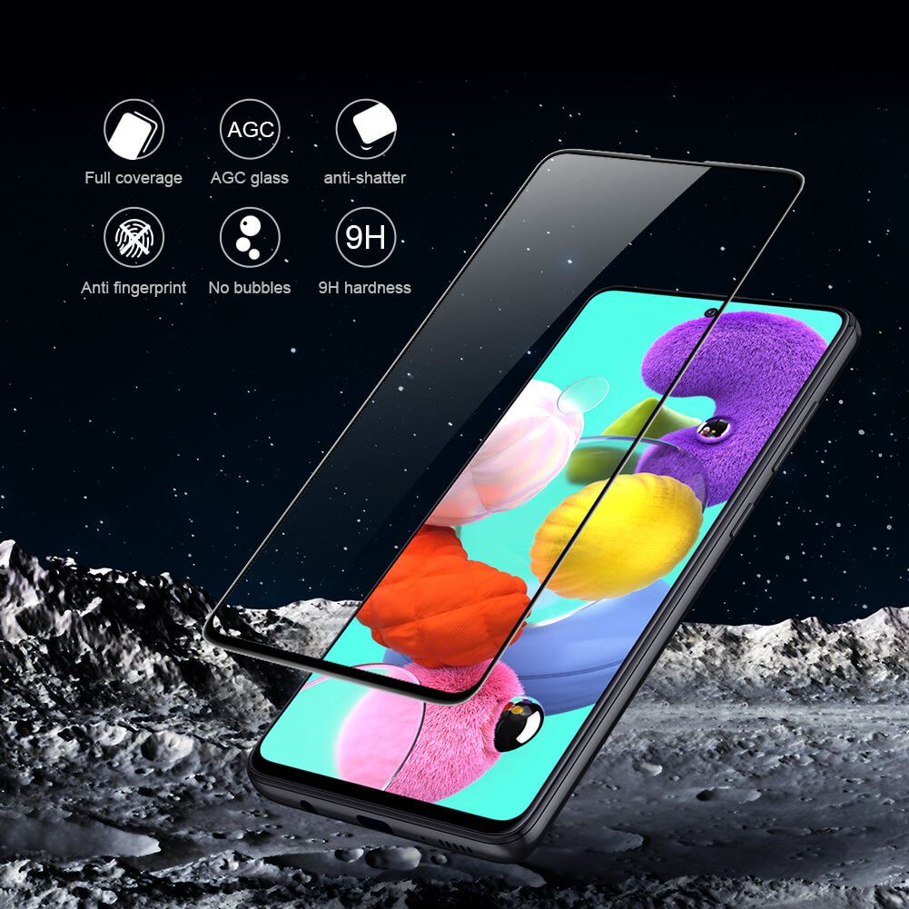 Nillkin Amazing 3D CP+ Max tempered glass screen protector for Samsung Galaxy A51