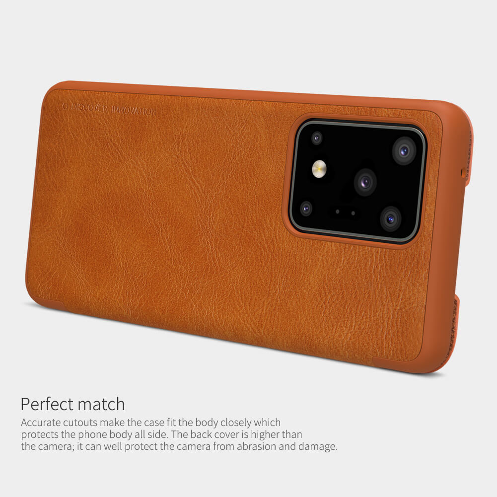 Nillkin Qin Series Leather case for Samsung Galaxy S20 Ultra (S20 Ultra 5G)