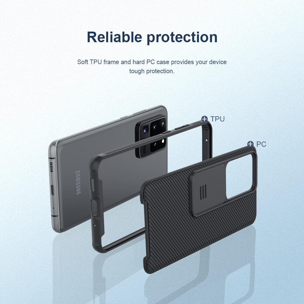 Nillkin CamShield Pro cover case for Samsung Galaxy S20 Ultra (S20 Ultra 5G)