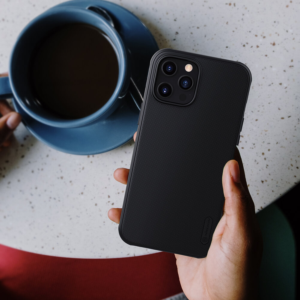 Ốp lưng Nillkin Super Frosted Shield Pro Matte cho Apple iPhone 12 Pro Max 6.7