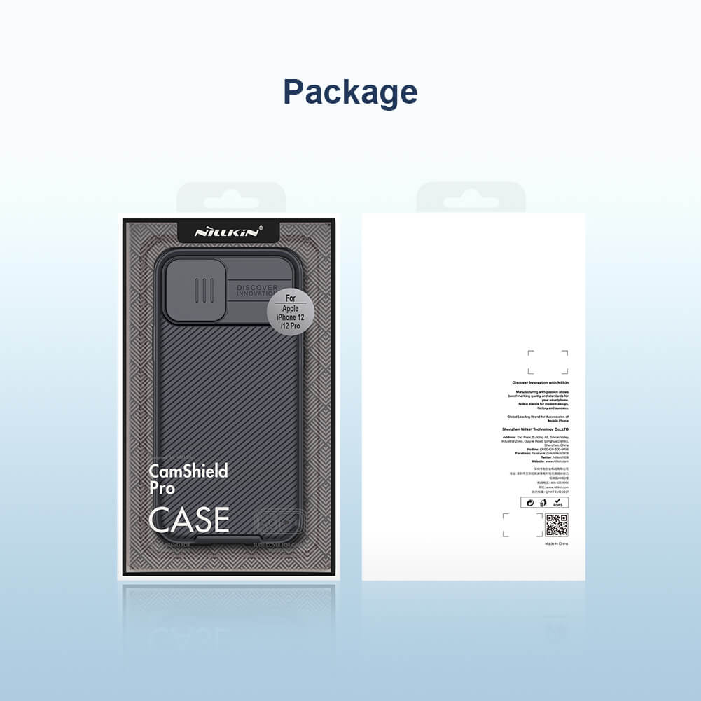 Nillkin CamShield Pro cover case for Apple iPhone 12, iPhone 12 Pro 6.1