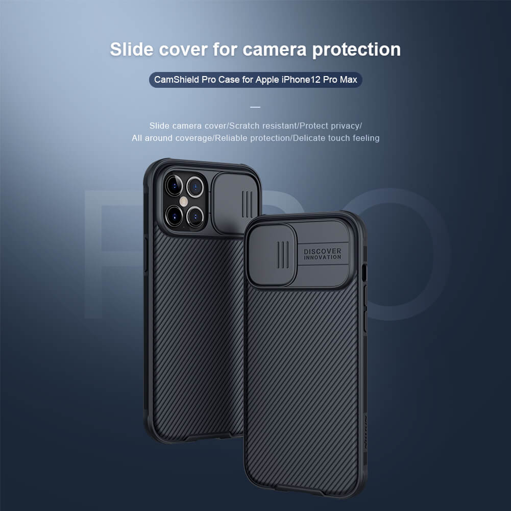 Nillkin CamShield Pro cover case for Apple iPhone 12 Pro Max 6.7