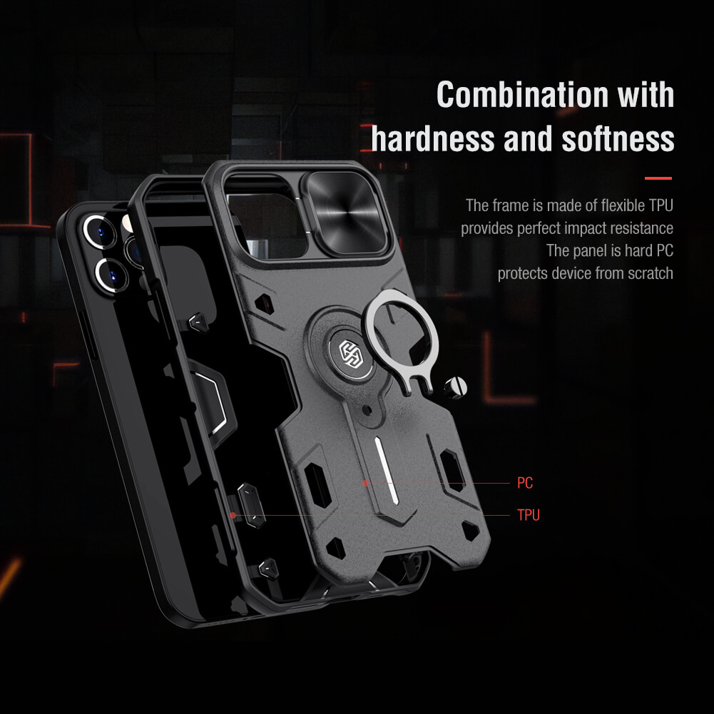 Nillkin CamShield Armor case for Apple iPhone 12, iPhone 12 Pro 6.1