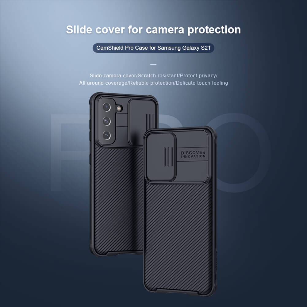 Nillkin CamShield Pro cover case for Samsung Galaxy S21 (S21 5G)