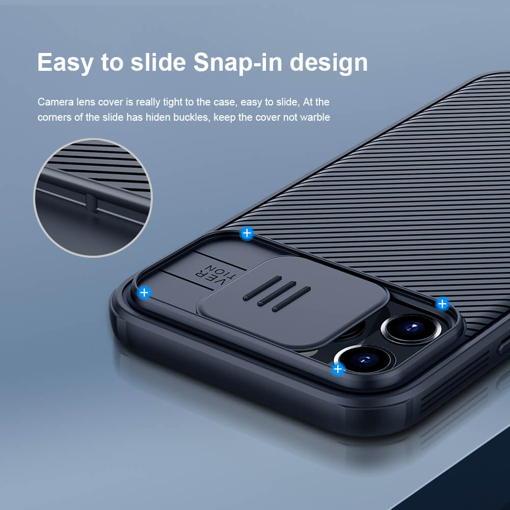 Nillkin CamShield Pro Magnetic cover case for Apple iPhone 12 Pro Max 6.7