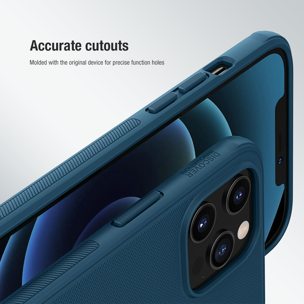 Nillkin Super Frosted Shield Pro Magnetic Matte cover case for Apple iPhone 12 Pro Max 6.7