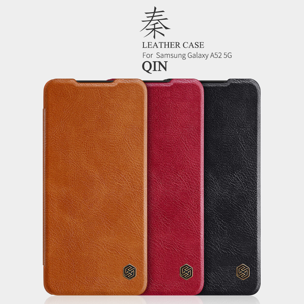 Nillkin Qin Series Leather case for Samsung Galaxy A52 4G, A52 5G