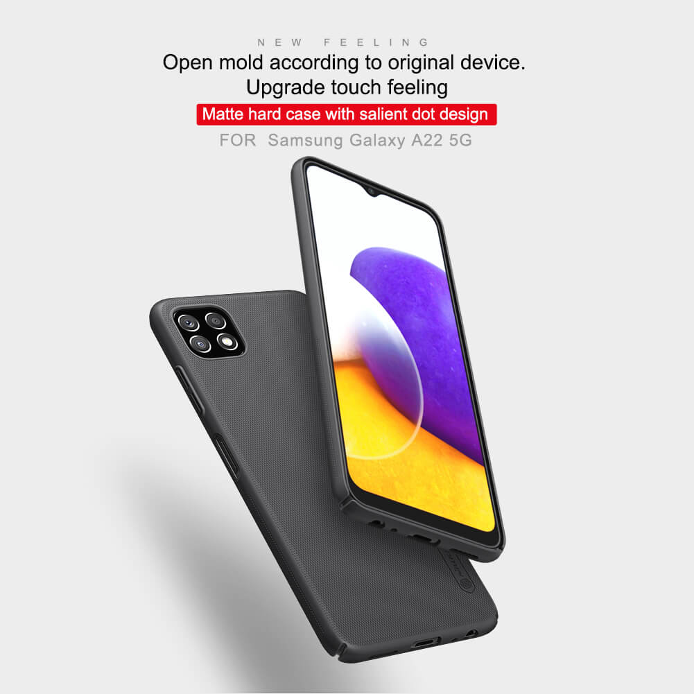 Nillkin Super Frosted Shield Matte cover case for Samsung Galaxy A22 5G