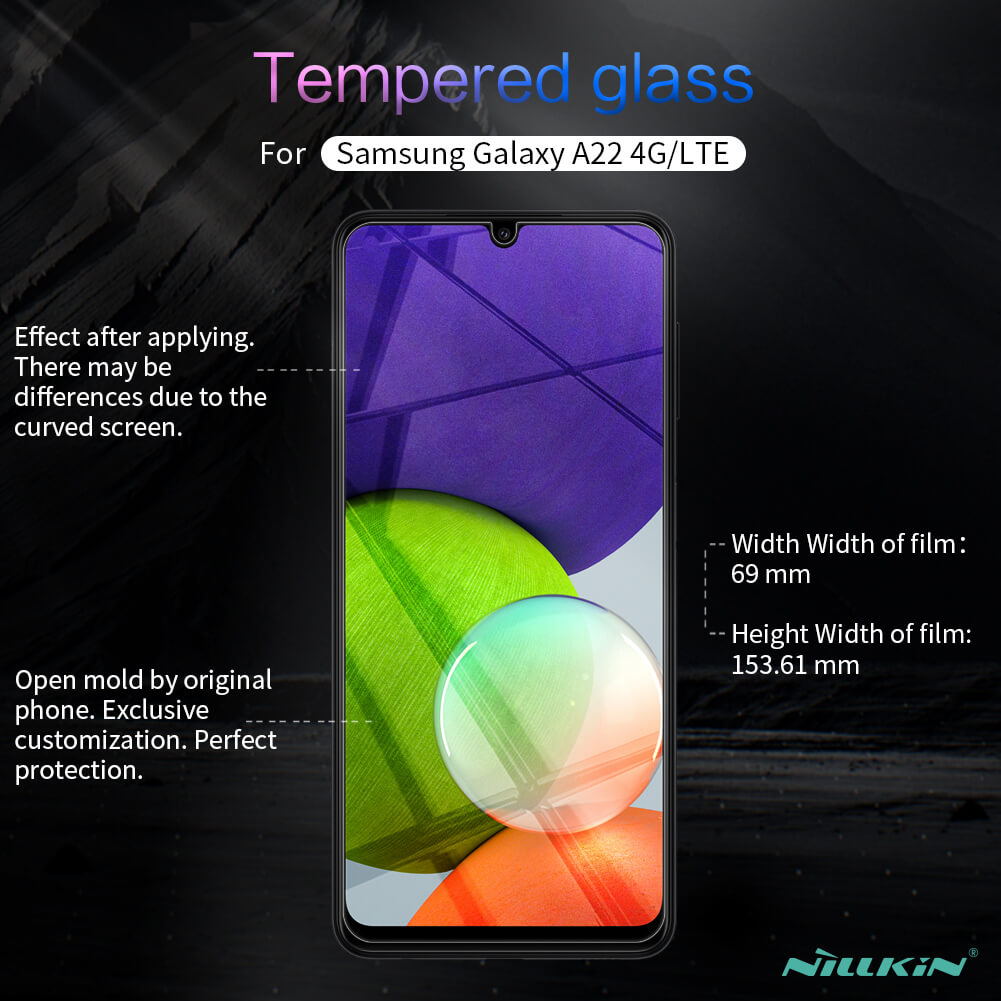 Nillkin Amazing H+ Pro tempered glass screen protector for Samsung Galaxy A22 4G