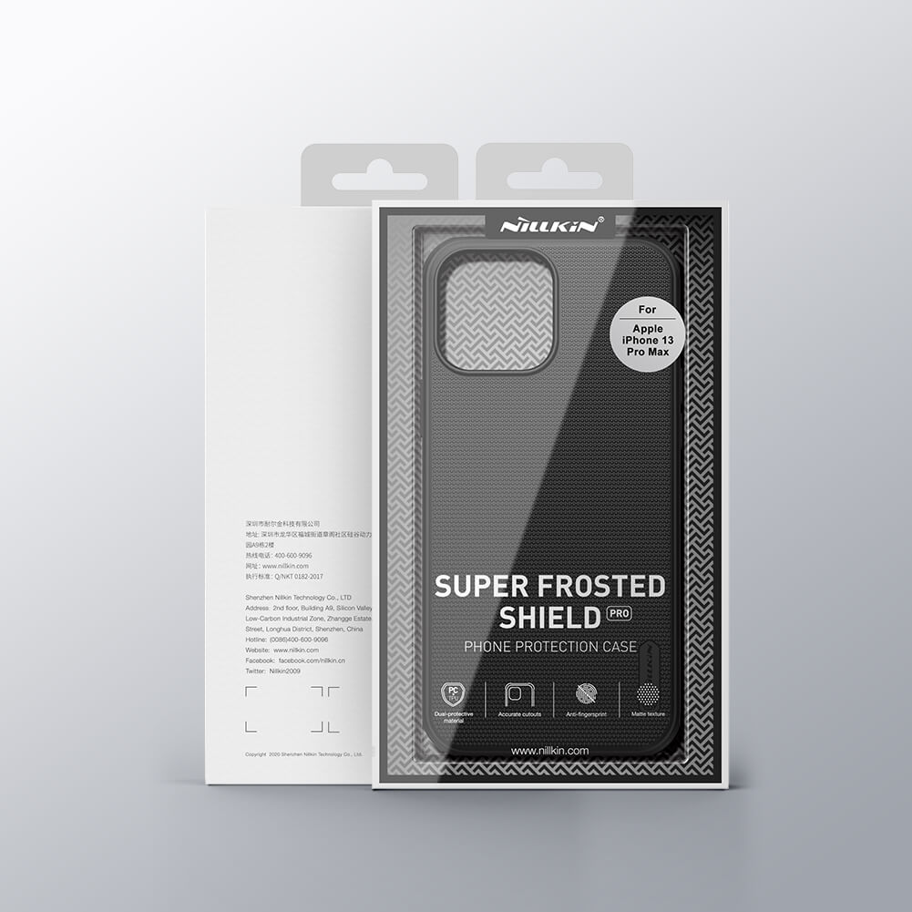 Nillkin Super Frosted Shield Pro Matte cover case for Apple iPhone 13 Pro Max