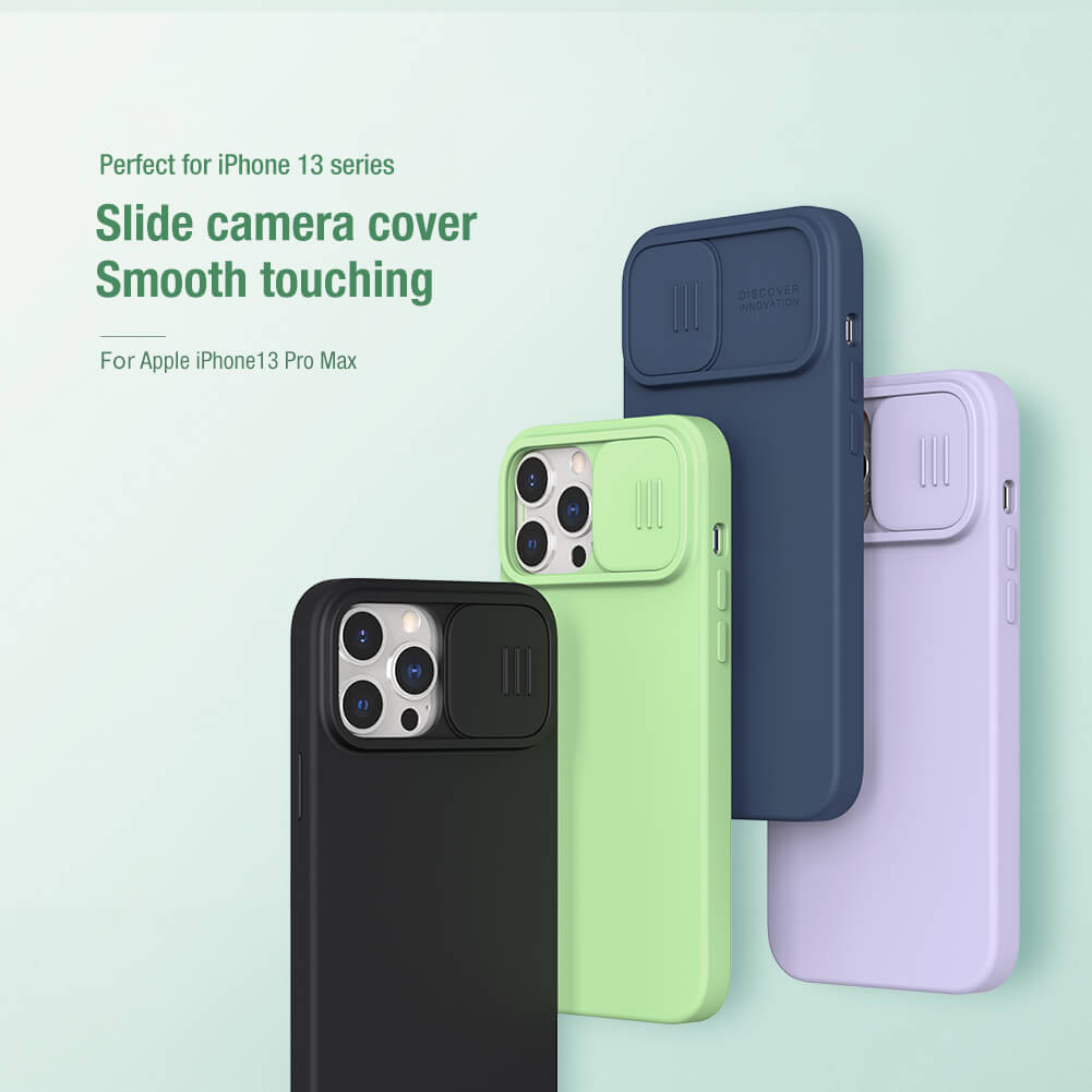 Nillkin CamShield Silky silicon case for Apple iPhone 13 Pro Max