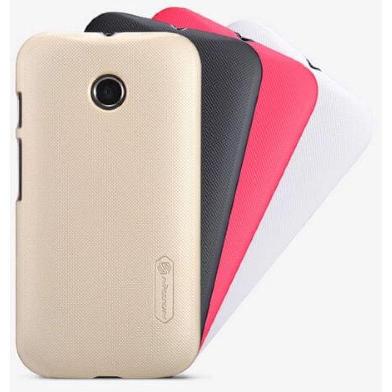 online retailer 324e2 29771 Nillkin Super Frosted Shield Matte cover case for Motorola Moto E (XT1527  XT1511 XT1505)