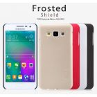 Nillkin Super Frosted Shield Matte cover case for Samsung Galaxy A3 (A300 A3000) + free screen protector order from official NILLKIN store