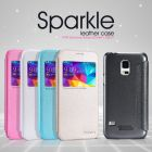 Nillkin Sparkle Series New Leather case for Samsung Galaxy S5 Mini (G800) order from official NILLKIN store