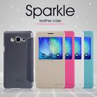Nillkin Sparkle Series New Leather case for Samsung Galaxy A7 (A700 A700F A7000 ) order from official NILLKIN store