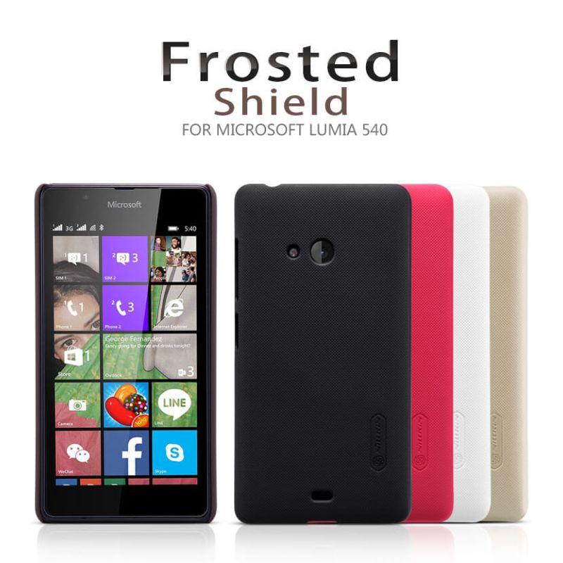 big sale d5242 13b73 Nillkin Super Frosted Shield Matte cover case for Microsoft Lumia 540  (Nokia Lumia 540)