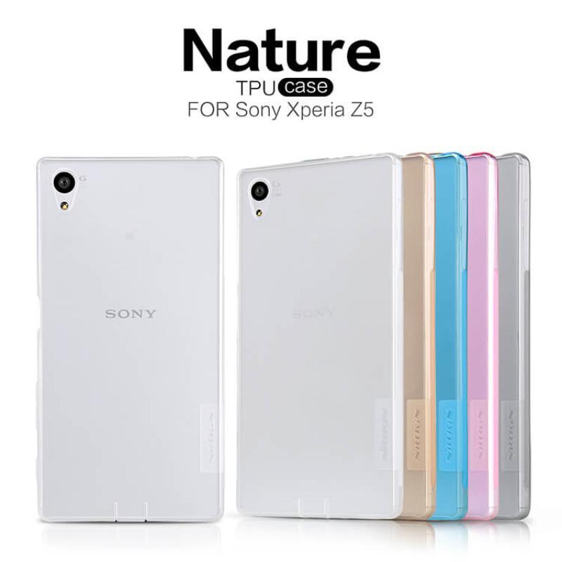super popular 05dbb 79f0a Nillkin Nature Series TPU case for Sony Xperia Z5 (E5803 E6603 E6633 E6653  E6683)