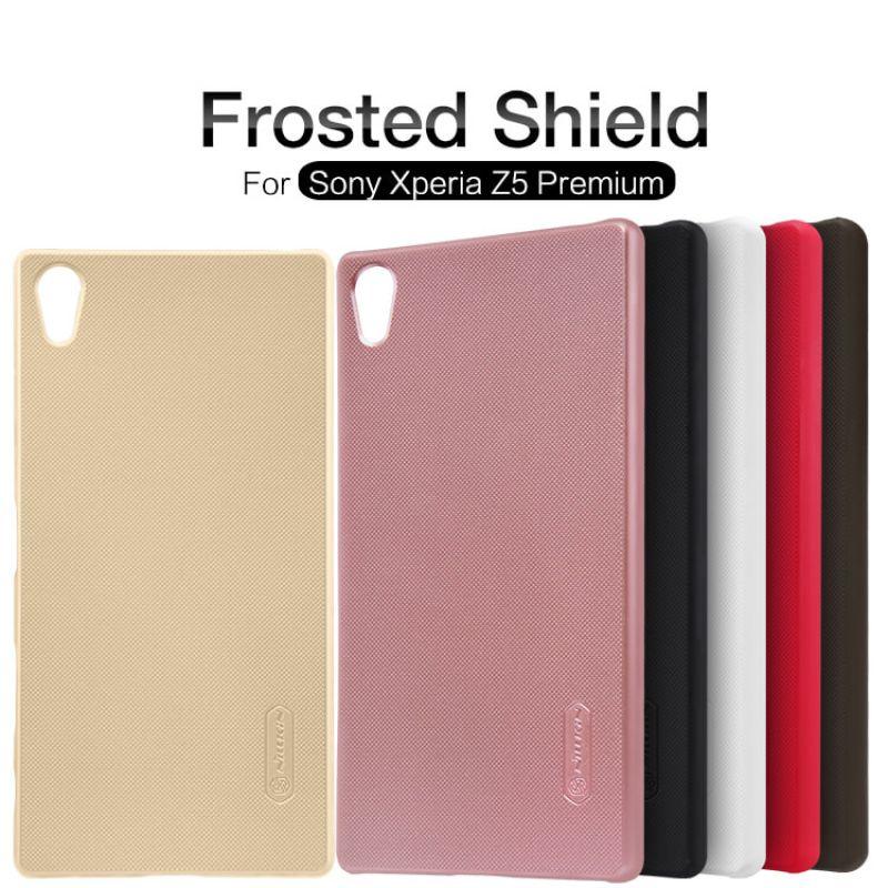 on sale 1f393 f0c55 Nillkin Super Frosted Shield Matte cover case for Sony Xperia Z5 Premium  (Xperia Z5 Plus)