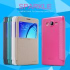 Nillkin Sparkle Series New Leather case for Samsung Galaxy On7 (G6000 G600 O7) order from official NILLKIN store