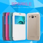 Nillkin Sparkle Series New Leather case for Samsung Galaxy J3 order from official NILLKIN store