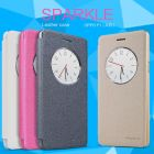 Nillkin Sparkle Series New Leather case for Oppo F1 (A35) order from official NILLKIN store