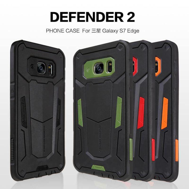 factory price 0d13d 6eb7f Nillkin Defender 2 Series Armor-border bumper case for Samsung Galaxy S7  Edge/G9350/G935A/G935F(5.5)