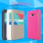 Nillkin Sparkle Series New Leather case for Samsung Galaxy J3 PRO (J3110) order from official NILLKIN store