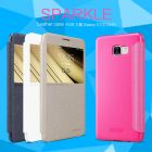 Nillkin Sparkle Series New Leather case for Samsung Galaxy C7 (C7000) order from official NILLKIN store