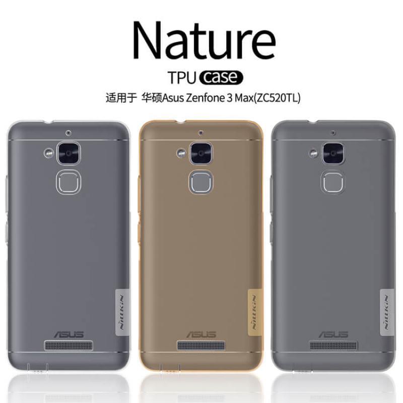 the latest da51a 8981a Nillkin Nature Series TPU case for ASUS Zenfone 3 Max ZF3 (ZC520TL)