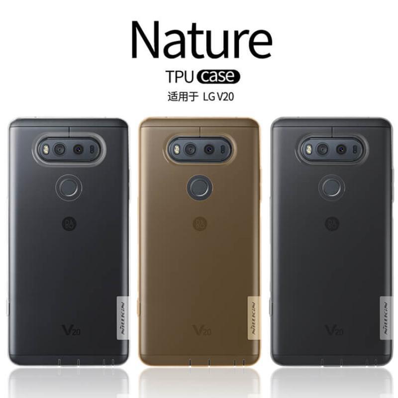 Nillkin Nature Series TPU case for LG V20