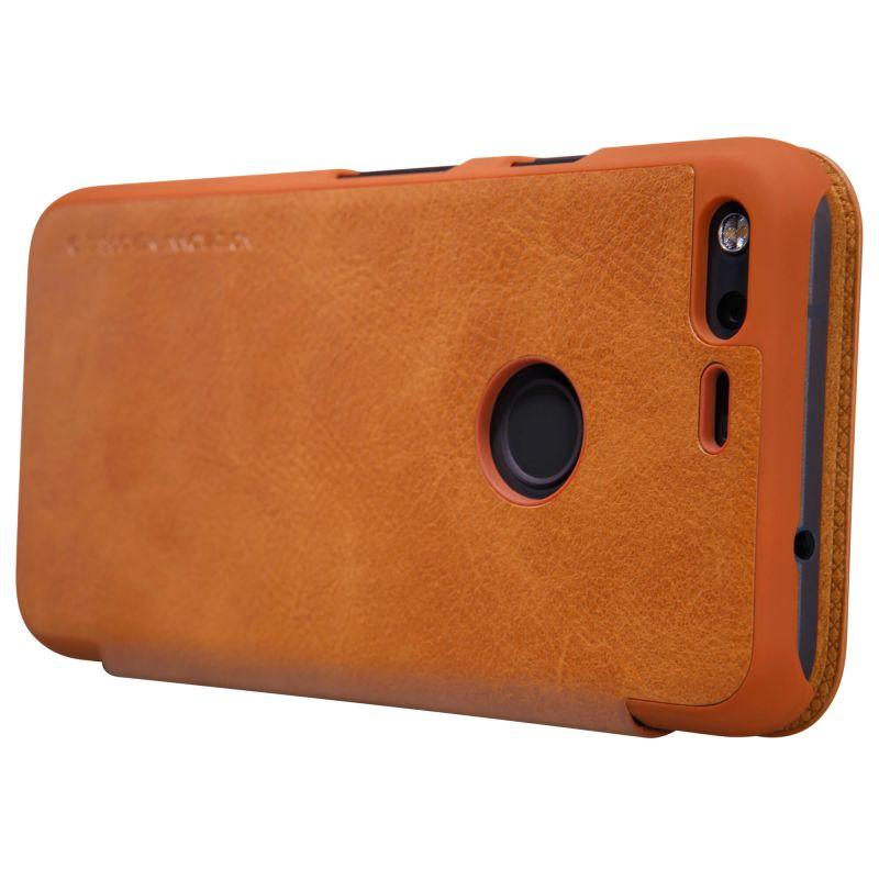 buy online f1d33 22dd0 Nillkin Qin Series Leather case for Google Pixel