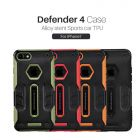 Nillkin Defender 4 Case Alloy stent Sports car TPU for Apple iPhone 7