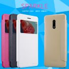 Nillkin Sparkle Series New Leather case for Nokia 6 order from official NILLKIN store
