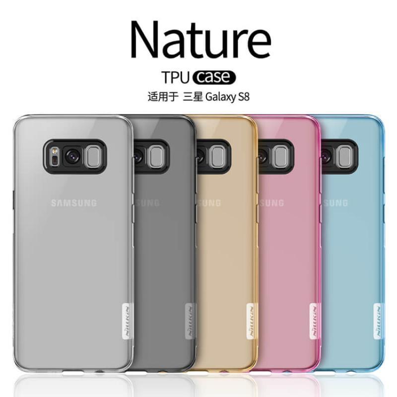 new styles 41146 59c2b Nillkin Nature Series TPU case for Samsung Galaxy S8